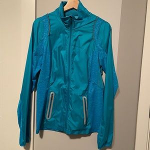 Lightweight reflective Lululemon Full Zip Jacket